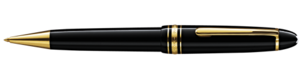 Montblanc Le Grand Meisterstuck Bolígrafo Negro 10456 [119a]