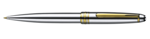 Montblanc Meisterstuck Platino Penna d'argento 18027 [6b5a]