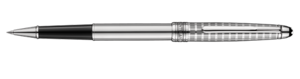 Montblanc Stainless Steel Ii Meisterstuck Pen Silver 09945 [c125]