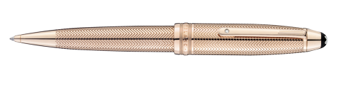 Montblanc Solitaire Rose Gold Barley Meisterstuck Pen 104553 [b362]
